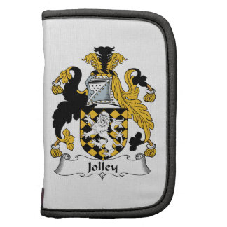 Jolley Family Crest Folio Planners