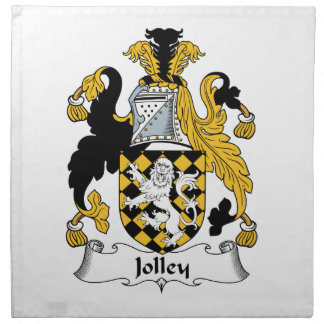 Jolley Family Crest Napkins