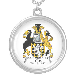 Jolley Family Crest Personalized Necklace