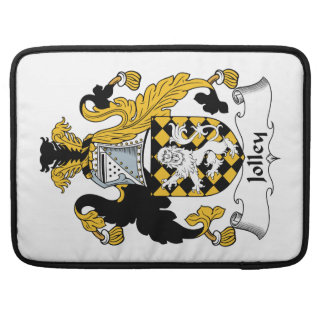 Jolley Family Crest Sleeves For MacBook Pro