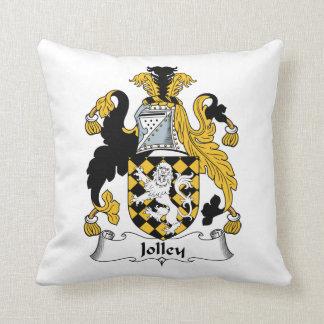 Jolley Family Crest Throw Pillows