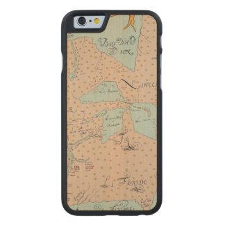 JOLLIET: NORTH AMERICA 1674 CARVED® MAPLE iPhone 6 SLIM CASE