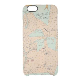 JOLLIET: NORTH AMERICA 1674 CLEAR iPhone 6/6S CASE