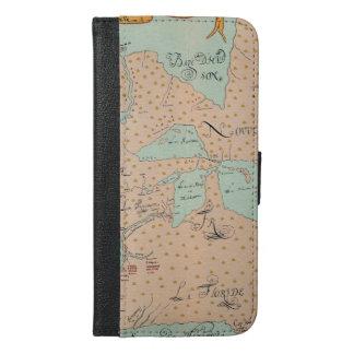 JOLLIET: NORTH AMERICA 1674 iPhone 6/6S PLUS WALLET CASE