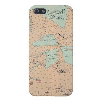 JOLLIET: NORTH AMERICA 1674 iPhone SE/5/5s CASE