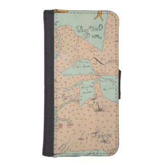 JOLLIET: NORTH AMERICA 1674 iPhone SE/5/5s WALLET CASE