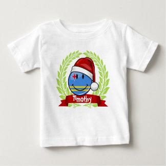 Jolly Aruba Flag Christmas Style Baby T-Shirt