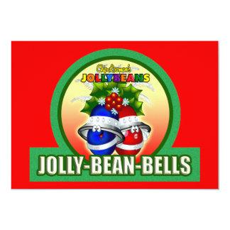 JOLLY-BEAN-BELLS 5X7 PAPER INVITATION CARD