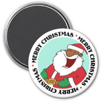 Jolly Black Saint Nicholas 2 3 Inch Round Magnet