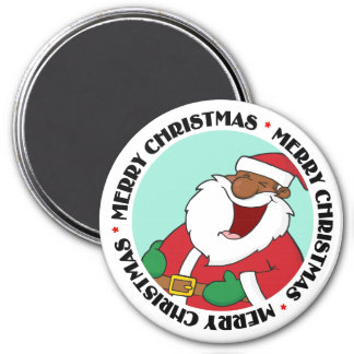 Jolly Black Saint Nicholas 2 Magnet