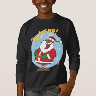 Jolly Black Saint Nicholas T-Shirt