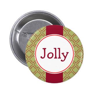 Jolly Christmas Button