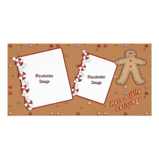 Jolly Christmas - Gingerbread Design Card