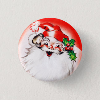 Jolly Christmas Greetings Button