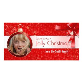 Jolly Christmas Photocards (set of 10) Card