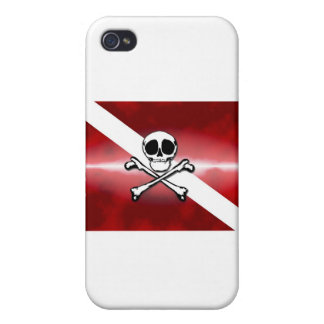 Jolly Diver iPhone 4 Case