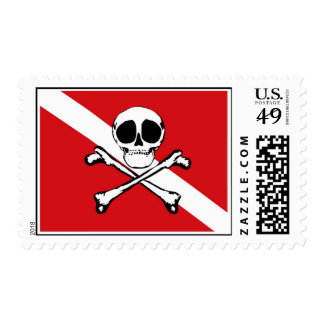 Jolly Diver Stamp