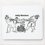 Jolly Doctors mouse pad