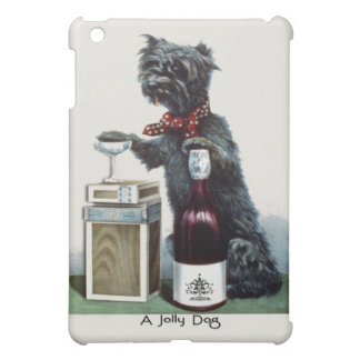 Jolly Dog  Ad Vintage Scottie with Champagne iPad Mini Cover