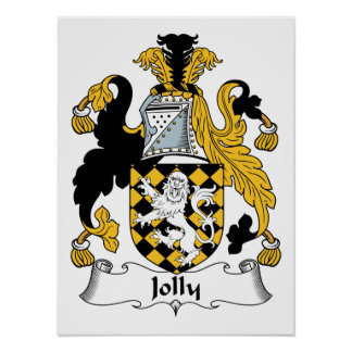Jolly Family Crest Posters