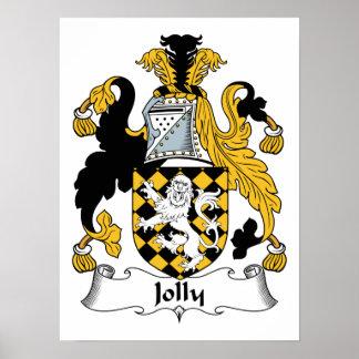 Jolly Family Crest Poster