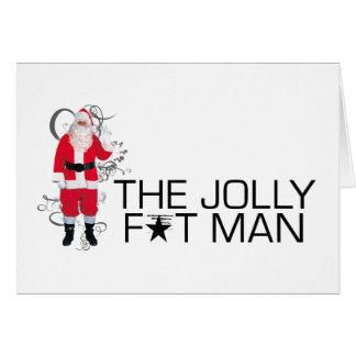 Jolly Fat Man Card