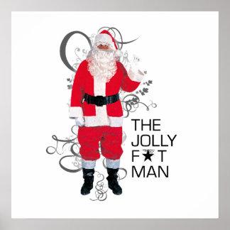Jolly Fat Man Poster