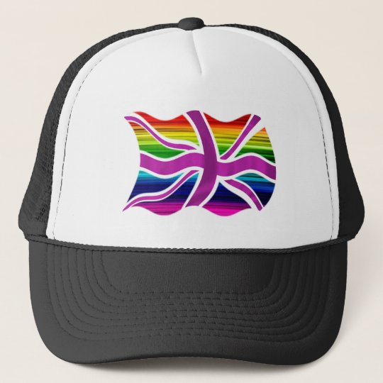 Jolly & Gay in the UK - Celebrate Gay Marriage! Trucker Hat