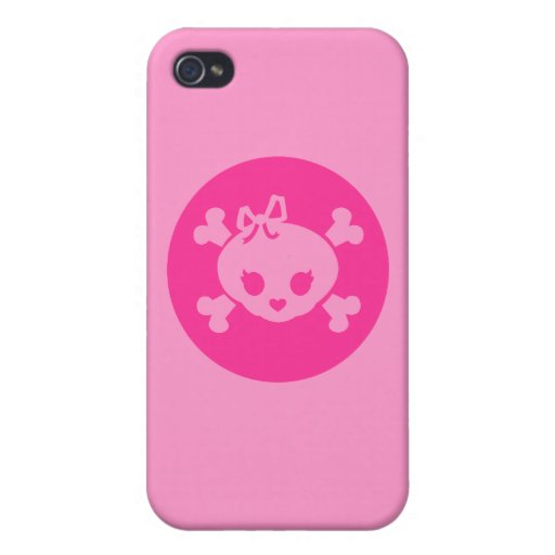 Jolly Girl Cases For iPhone 4 : Zazzle