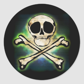 Jolly Glow Classic Round Sticker