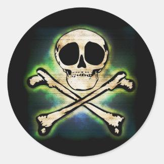 Jolly Glow Classic Round Sticker