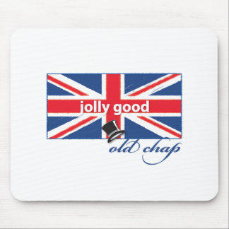 Jolly good old chap! mouse pad