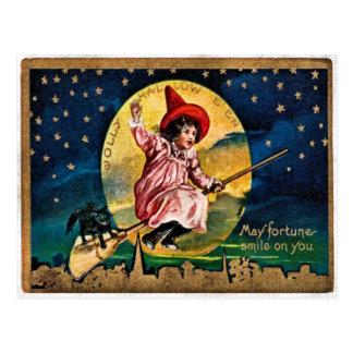 Jolly Hallowe'en Postcard