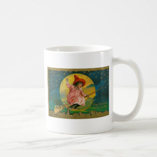 Jolly Halloween Vintage Witch Mugs