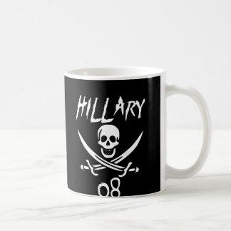 Jolly HILLARY 08 {Whitebeard} Classic White Coffee Mug