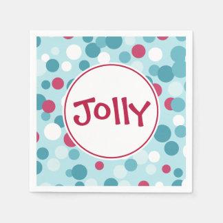 Jolly Holiday Napkins