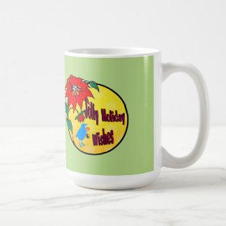 Jolly Holiday WIshes Gifts Coffee Mug