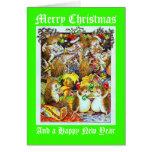 Jolly Holly Christmas Prickles Card