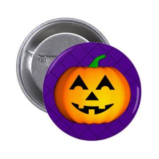 Jolly Jack O Lantern Button