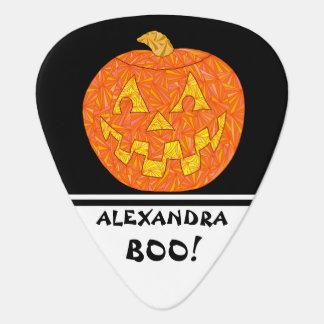 Jolly Jack O Lantern Halloween Fun Boo! Custom Guitar Pick