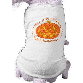 Jolly Jack O Lantern Halloween Pumpkin Fun Dog Shirt
