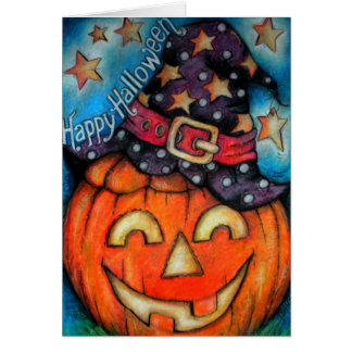 Jolly Jack - Witchy Boo - Happy Halloween Card