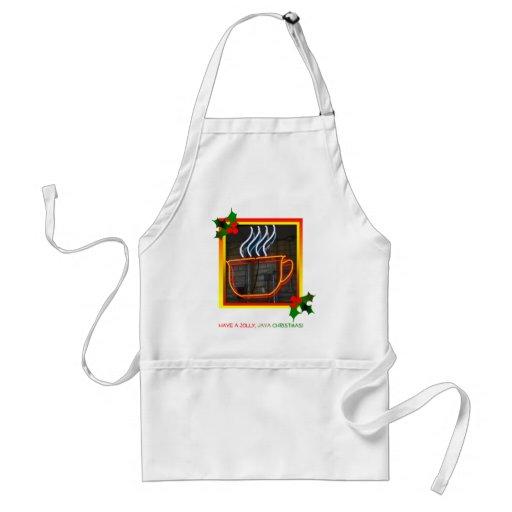 Jolly, Java Christmas apron II