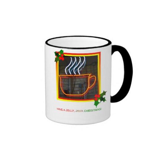 Jolly Java Christmas mug