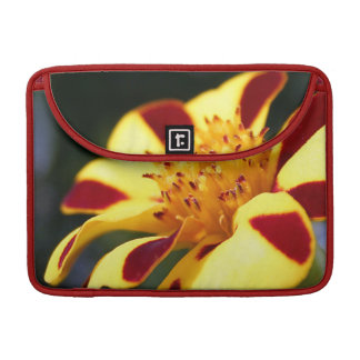 Jolly Jester Marigold in Maroons and Golds MacBook Pro Sleeves