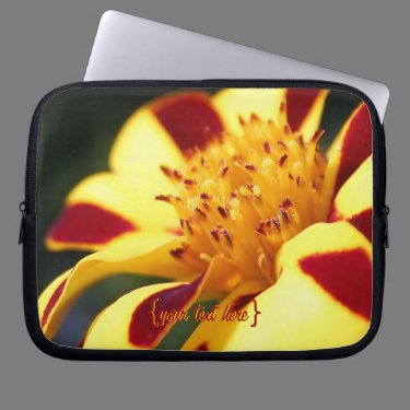 Jolly Jester Marigold Laptop Sleeves