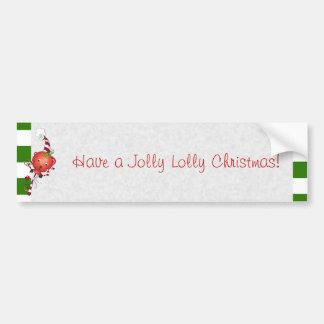 Jolly Lolly Lollipop Art Bumper Sticker