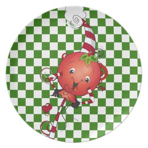 Jolly Lolly Lollipop Art Dinner Plate