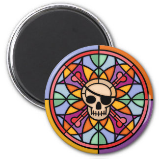 Jolly Maltese 2 Inch Round Magnet
