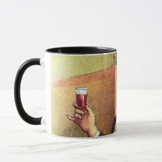 Jolly Man Toasting with Cognac Mug